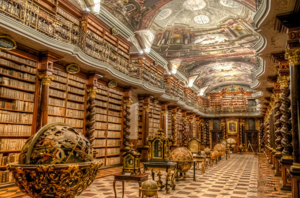 Prague-Clementinum-National-Library